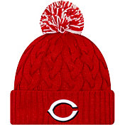 New Era Women's Cincinnati Reds Cozy Cable Knit Hat