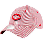 New Era Women's Cincinnati Reds Red Preppy 9Twenty Adjustable Hat