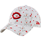 New Era Women's Cincinnati Reds White Blossom 9Twenty Adjustable Hat