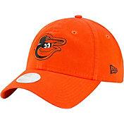 New Era Women's Baltimore Orioles Orange Core Classic 9Twenty Adjustable Hat