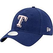 New Era Women's Texas Rangers Blue Core Classic 9Twenty Adjustable Hat