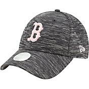 New Era Women's Boston Red Sox Gray 9Forty Tech League Adjustable Hat