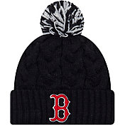 New Era Women's Boston Red Sox Cozy Cable Knit Hat