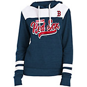 New Era Women's Boston Red Sox Tri-Blend Pullover Hoodie