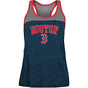 New Era Women's Boston Red Sox Navy Tri-Blend Tank Top