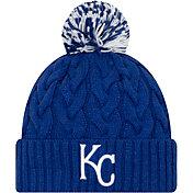 New Era Women's Kansas City Royals Cozy Cable Knit Hat