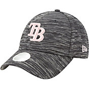 New Era Women's Tampa Bay Rays Gray 9Forty Tech League Adjustable Hat