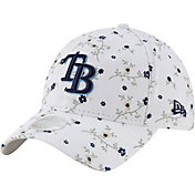 New Era Women's Tampa Bay Rays White Blossom 9Twenty Adjustable Hat