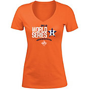 New Era Women's 2019 World Series Houston Astros Tri-Blend V-Neck T-Shirt