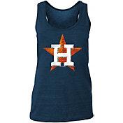 New Era Women's Houston Astros Tri-Blend Tank Top