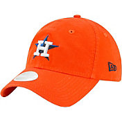 New Era Women's Houston Astros Orange Core Classic 9Twenty Adjustable Hat