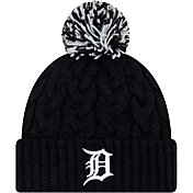 New Era Women's Detroit Tigers Cozy Cable Knit Hat