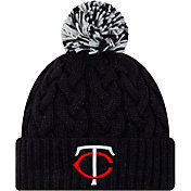 New Era Women's Minnesota Twins Cozy Cable Knit Hat