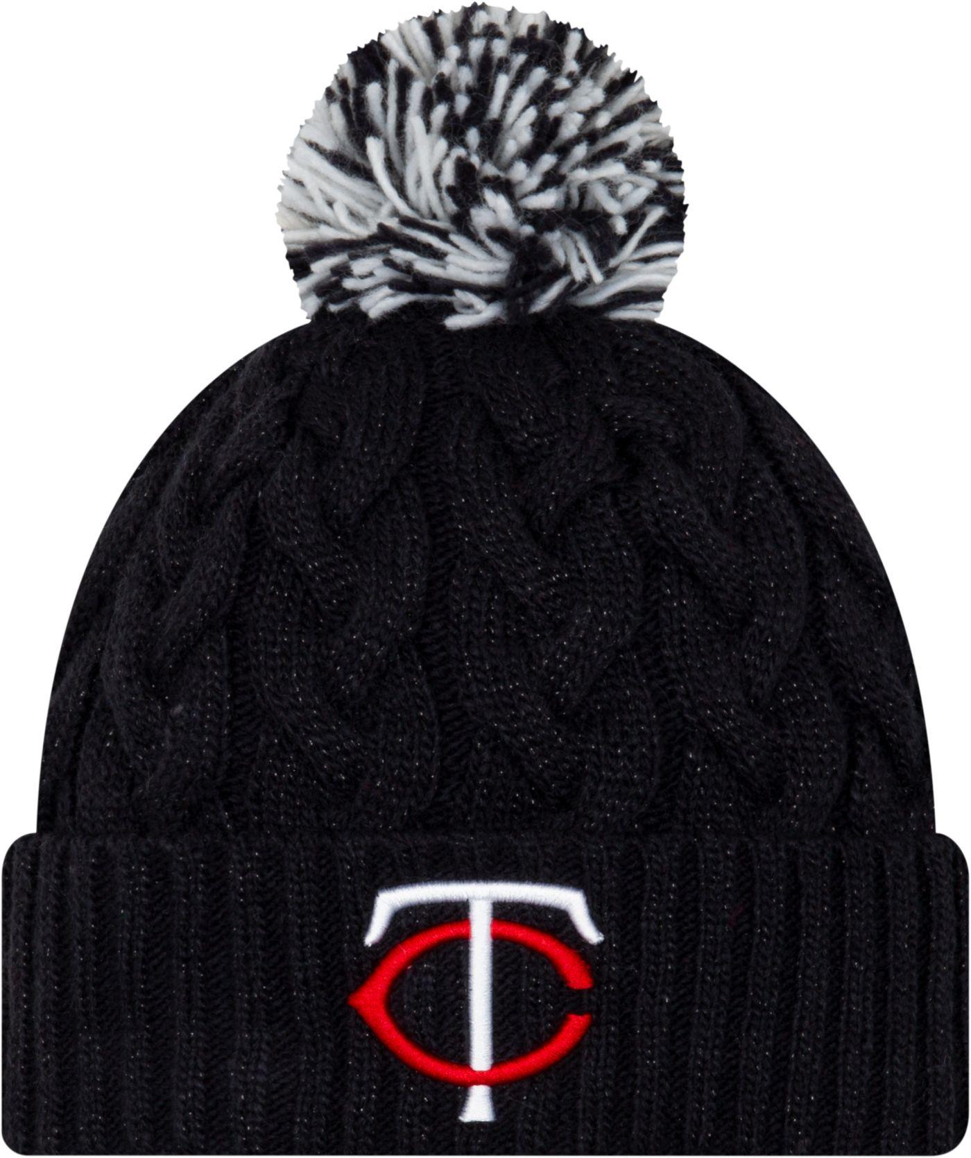 New Era Women's Minnesota Twins Cozy Cable Knit Hat