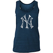 New Era Women's New York Yankees Tri-Blend Tank Top