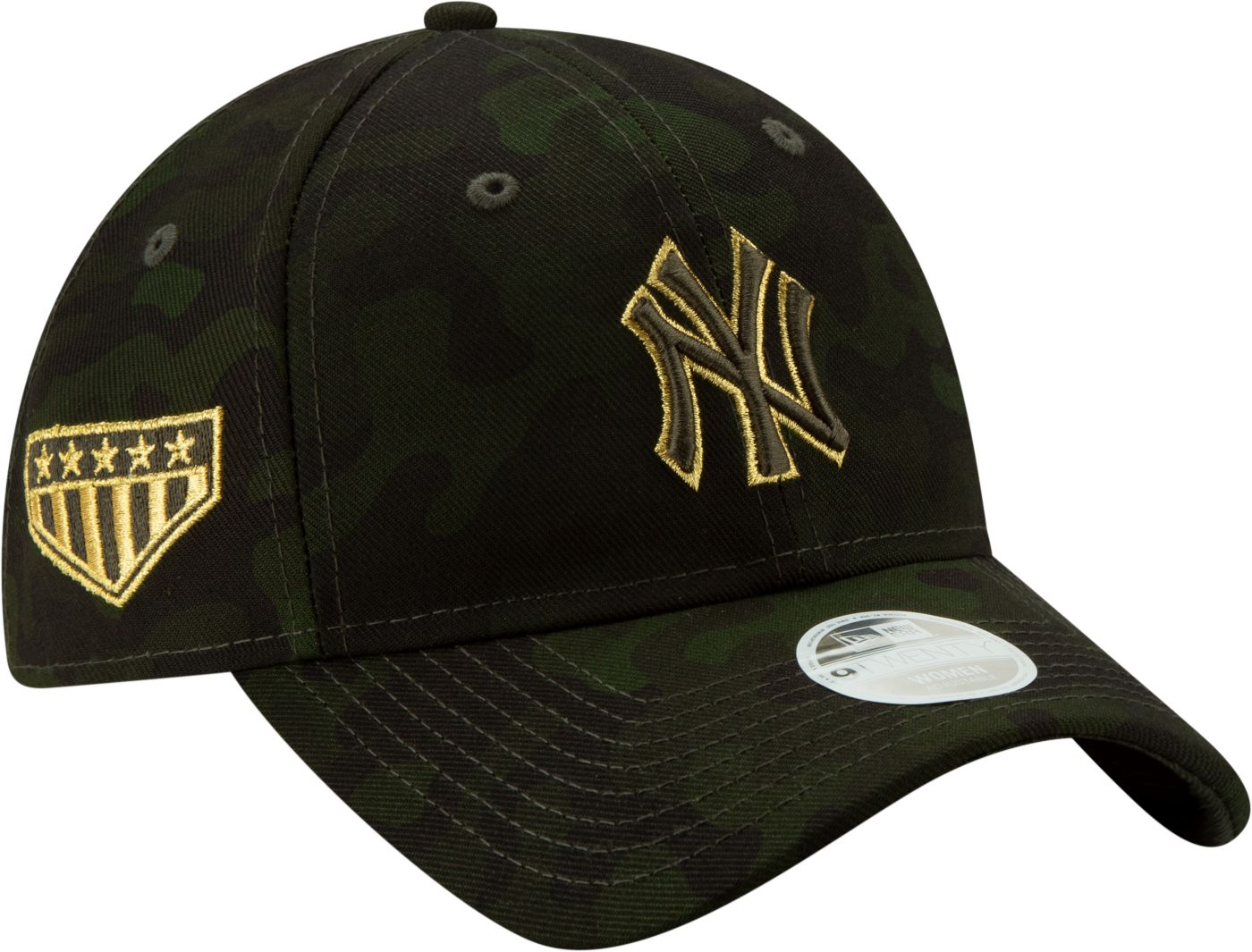 New Era Women's New York Yankees 9Twenty Armed Forces Adjustable Hat