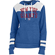 New Era Women's New York Giants Tri-Blend Fleece Royal Hoodie