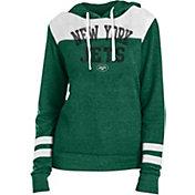 New Era Women's New York Jets Tri-Blend Fleece Green Hoodie
