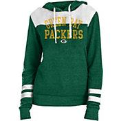 New Era Women's Green Bay Packers Tri-Blend Fleece Green Hoodie