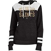 New Era Women's New Orleans Saints Tri-Blend Fleece Black Hoodie