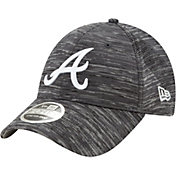 New Era Youth Atlanta Braves Gray 9Forty Shadow Neo Adjustable Hat