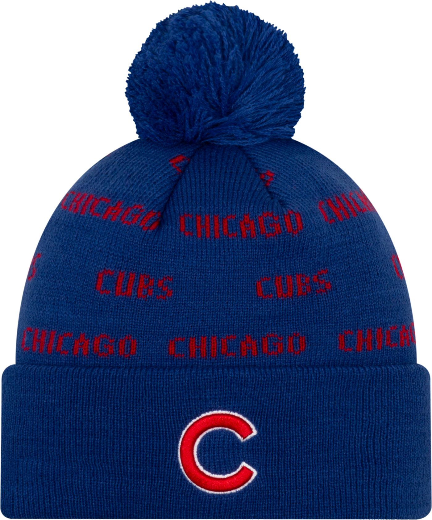 New Era Youth Chicago Cubs Repeat Knit Hat