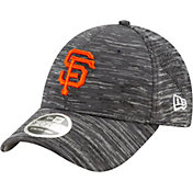 New Era Youth San Francisco Giants Gray 9Forty Shadow Neo Adjustable Hat