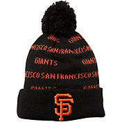 New Era Youth San Francisco Giants Repeat Knit Hat