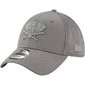 New Era Men's Oakland Athletics Gray 39Thirty Clubhouse Stretch Fit Hat