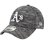 New Era Youth Oakland Athletics Gray 9Forty Shadow Neo Adjustable Hat