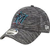 New Era Youth Miami Marlins Gray 9Forty Shadow Neo Adjustable Hat