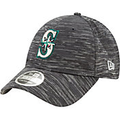 New Era Youth Seattle Mariners Gray 9Forty Shadow Neo Adjustable Hat