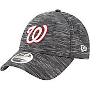 New Era Youth Washington Nationals Gray 9Forty Shadow Neo Adjustable Hat