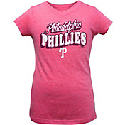 New Era Youth Girls' Philadelphia Phillies Pink T-Shirt