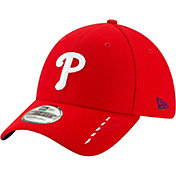 New Era Youth Philadelphia Phillies Red 39Thirty Rush Stretch Fit Hat