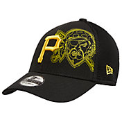 New Era Youth Pittsburgh Pirates 39Thirty Tonel Neo Stretch Fit Black Hat
