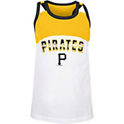 New Era Youth Pittsburgh Pirates Yellow Baseball Jersey Tank Top
