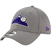 New Era Men's Colorado Rockies Gray 39Thirty Clubhouse Stretch Fit Hat