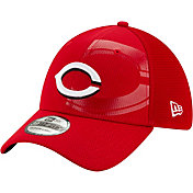 New Era Youth Cincinnati Reds Red 39Thirty Tonel Neo Stretch Fit Hat