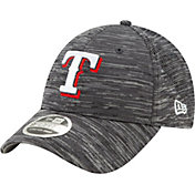 New Era Youth Texas Rangers Gray 9Forty Shadow Neo Adjustable Hat