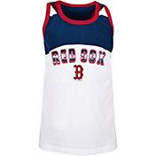 New Era Youth Girls' Boston Red Sox Navy Spandex Baby Jersey Tank Top