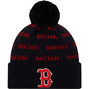 New Era Youth Boston Red Sox Repeat Knit Hat