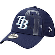 New Era Youth Tampa Bay Rays Navy 39Thirty Tonel Neo Stretch Fit Hat