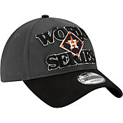 New Era Men's 2019 American League Champions Locker Room 9Twenty Houston Astros Adjustable Hat