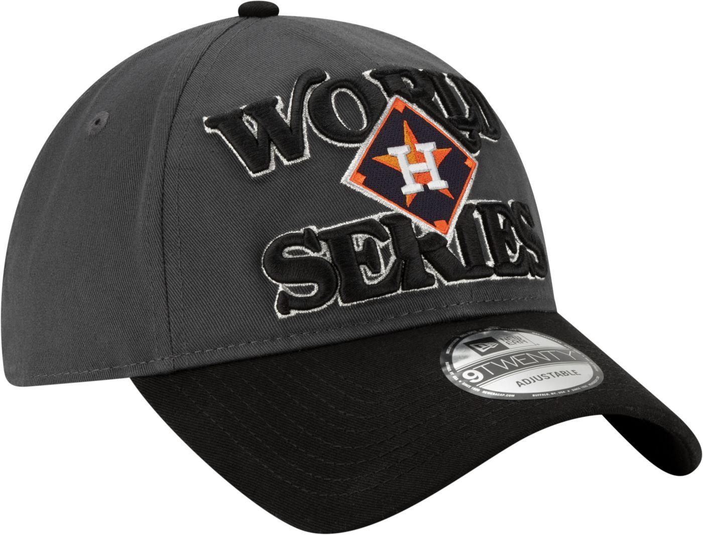 New Era Men's 2019 American League Champions Locker Room 9Twenty Houston Astros Adjustable Hat