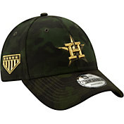 New Era Youth Houston Astros 9Forty Armed Forces Adjustable Hat