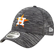 New Era Youth Houston Astros Gray 9Forty Shadow Neo Adjustable Hat