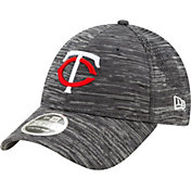New Era Youth Minnesota Twins Gray 9Forty Shadow Neo Adjustable Hat