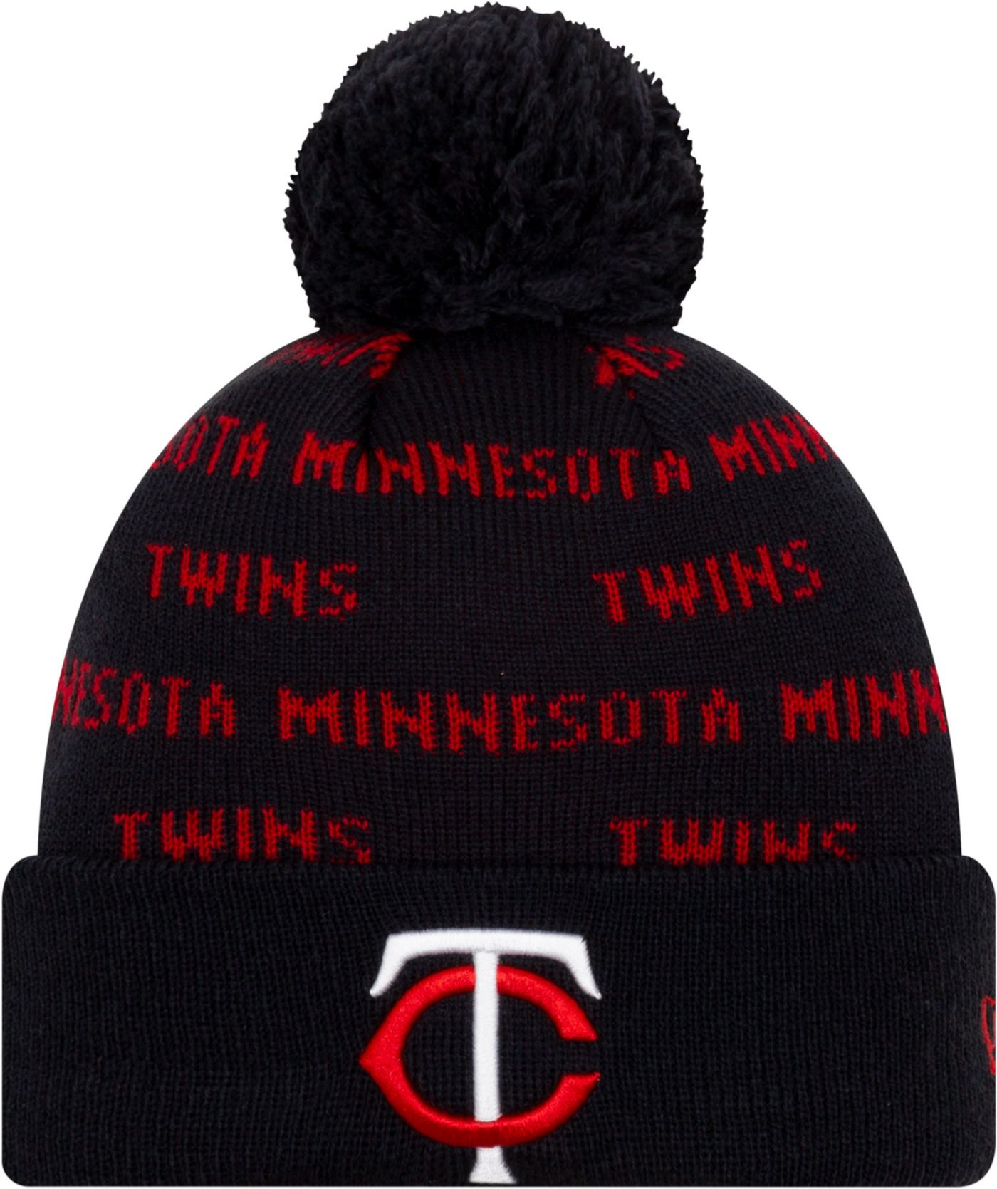 New Era Youth Minnesota Twins Repeat Knit Hat