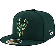 New Era Youth Milwaukee Bucks 59Fifty Authentic Hat